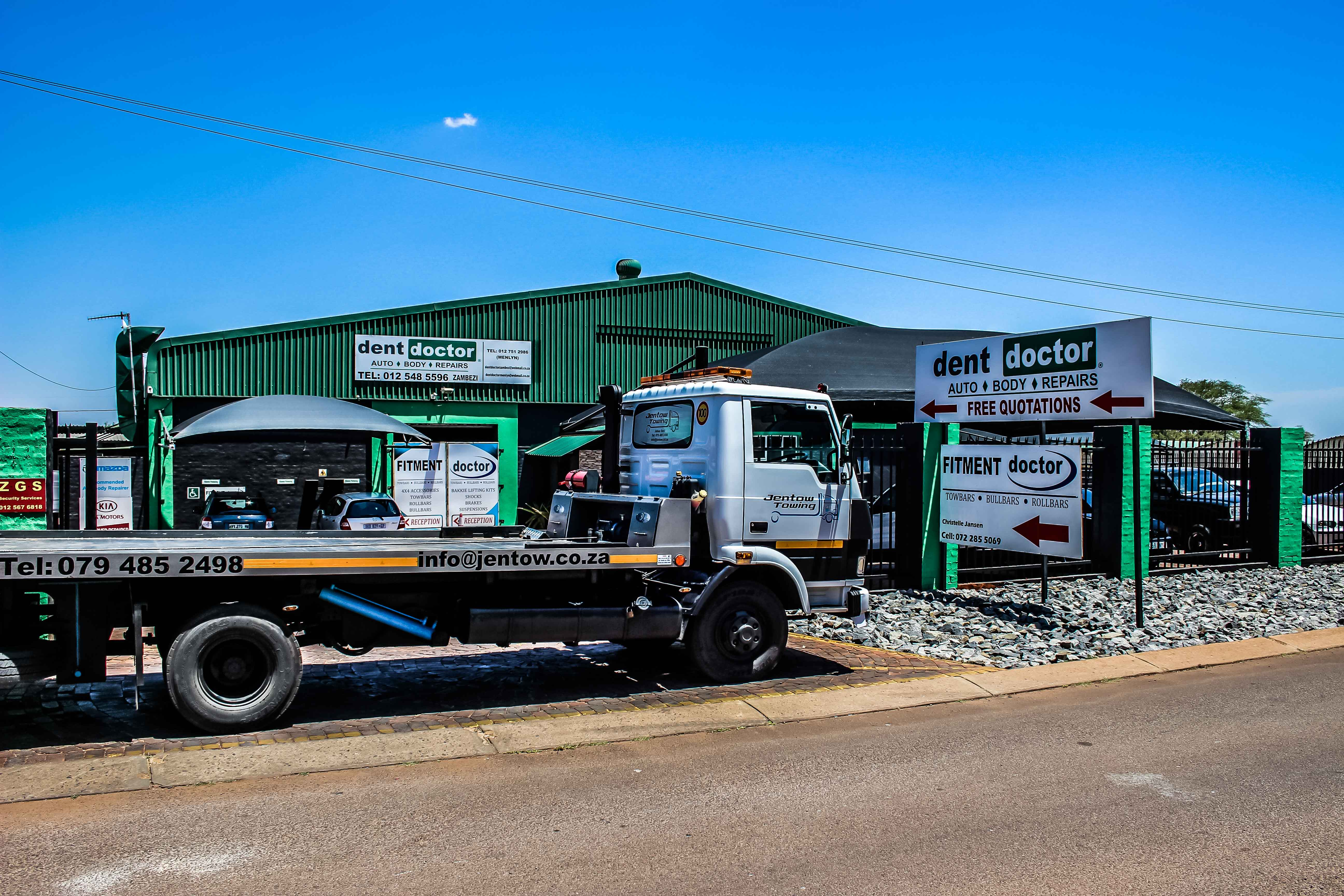 Dent Doctor Zambezi Towing